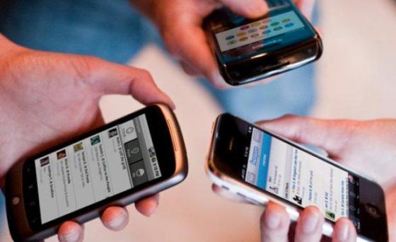 Crece el tráfico de datos móviles.