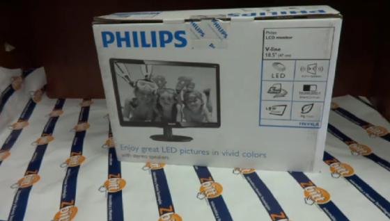 Monitor Philips 18.5» V-Line 196V4LA