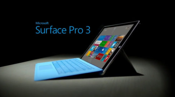 Surface Pro 3 ya está aquí.