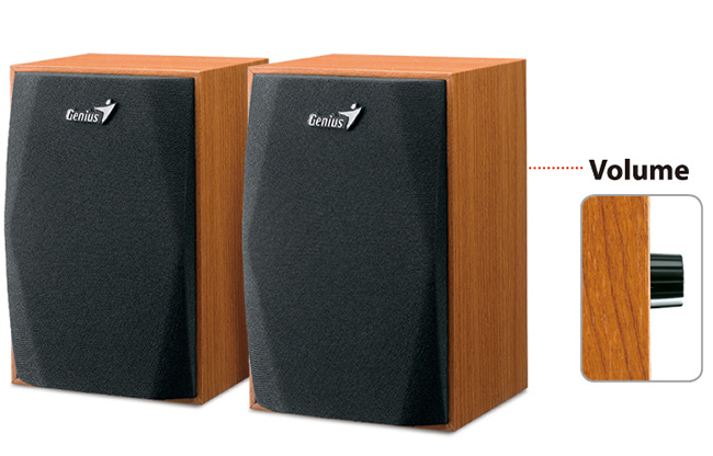 Altavoces de madera Genius SP-HF150 Wood Speakers