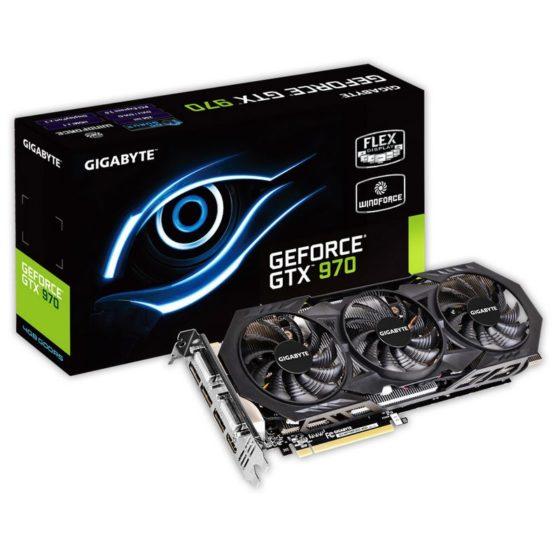 Nvidia GeForce GT970 Gigabyte