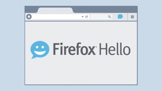 Firefox Hello: un videoteléfono en tu navegador.