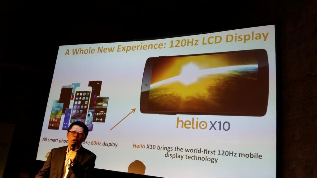 presentación Procesador HelioX10 Mediatek