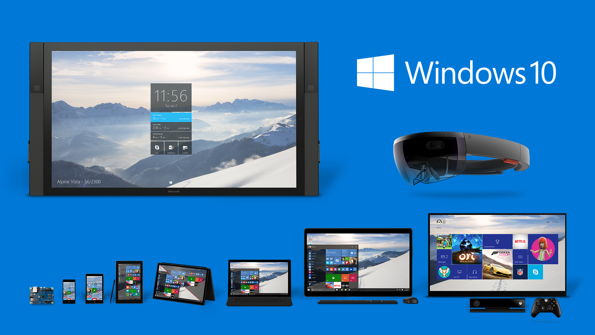 Windows 10 product family