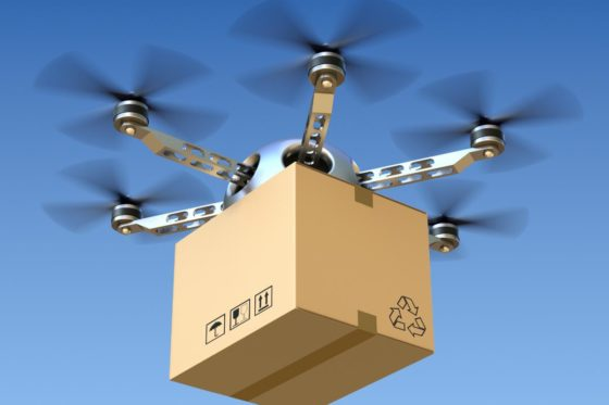 Reparto vía drones y la normativa española