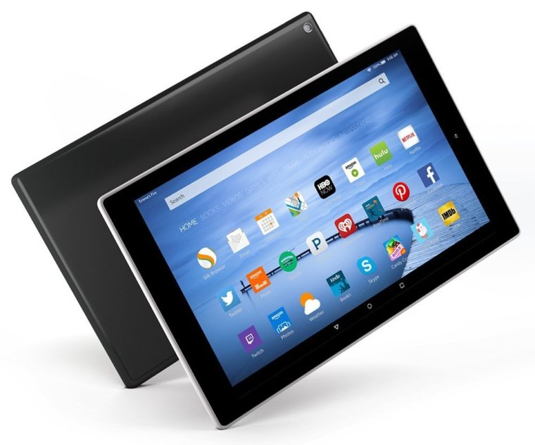 Amazon presenta su nuevo fichaje en tablets; la Fire HD 10