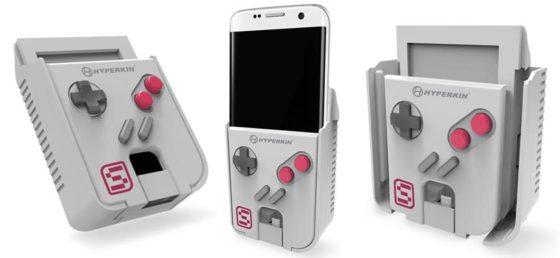 Con este gadget podemos convertir el móvil en una Game Boy